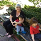 2016-10-16 Bronwyn at Wellington Botanic Gardens (3)