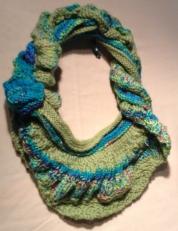 Spring infinity scarfmini shawl (2)