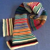 Seriously Snuggly Stripy Scarf (5)